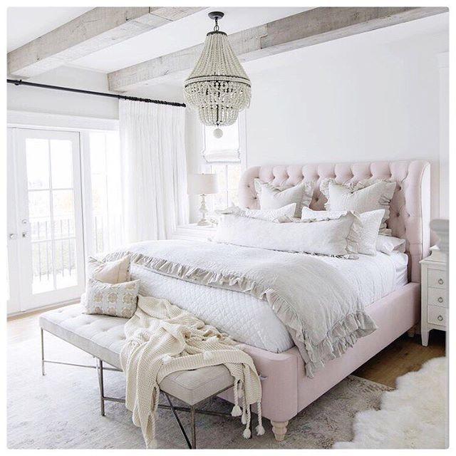 Wohlfuhlalarm Creme Weiss Rosa Fur Das Perfekte Schlafzimmer Sanft