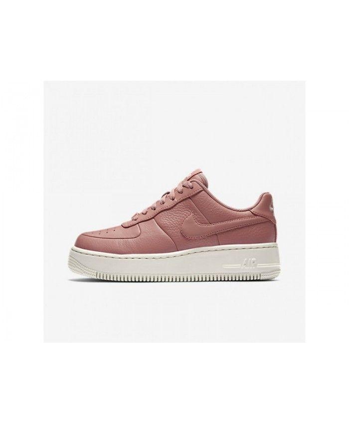 Nike Air Force 1 Upstep Women's Red StardustSiltstone Red