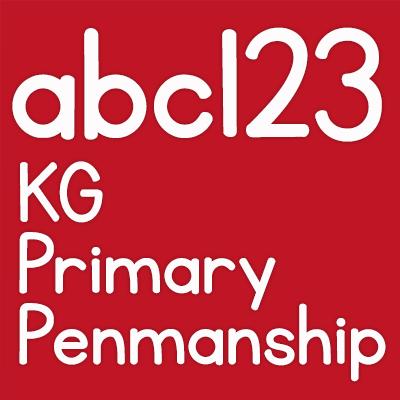 KG Primary Penmanship Font | Fonts