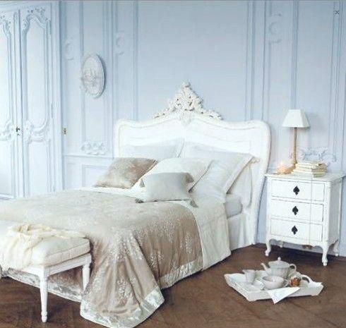 t te de lit maison du monde 140 cm comtesse home style pinterest. Black Bedroom Furniture Sets. Home Design Ideas