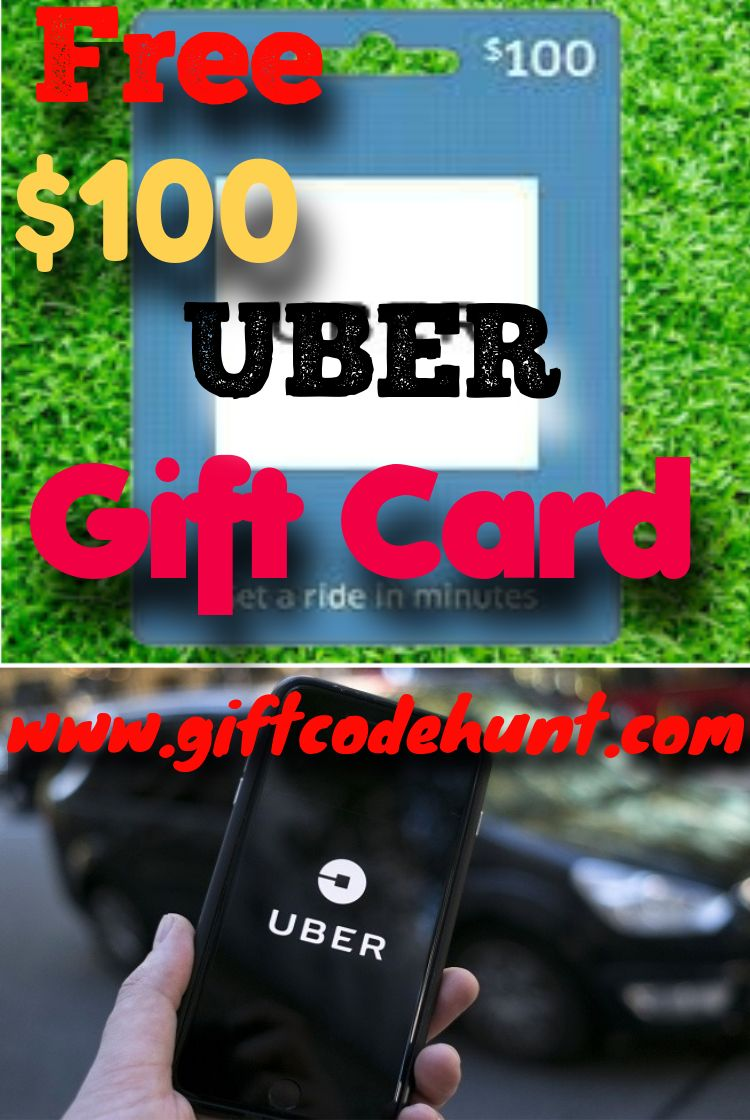 Get 100 uber gift card for free gift card free gift