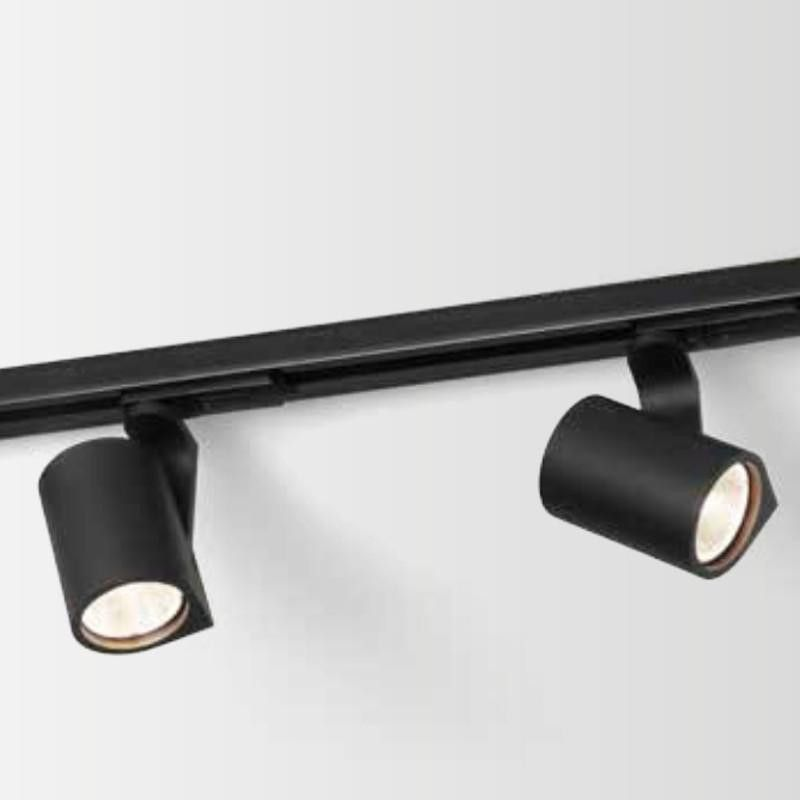 Wever u0026 Ducré Sqube on track LED Rails Tracks u0026 Kabelsystem zwart by Wever u0026 Ducré in Rails Tracks u0026 Kabelsystemen - Binnenverlichting & 1 fase trackspot | office ceiling lights | Pinterest | Rails rails ... azcodes.com