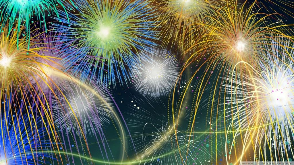 fireworks desktop wallpaper