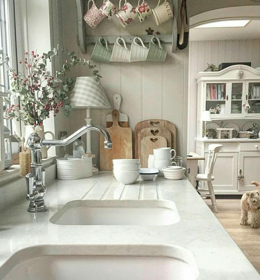 Shabby Chic Kitchen Decor Pictures: Pin Uživatele ŠD Na Nástěnce Kuchyň - Kitchen