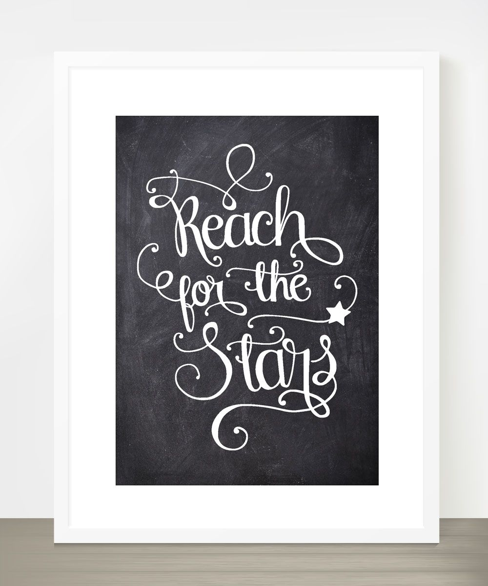 Inspirational Hand Lettered Wall Art + Freebie   Happyhandsproject.com