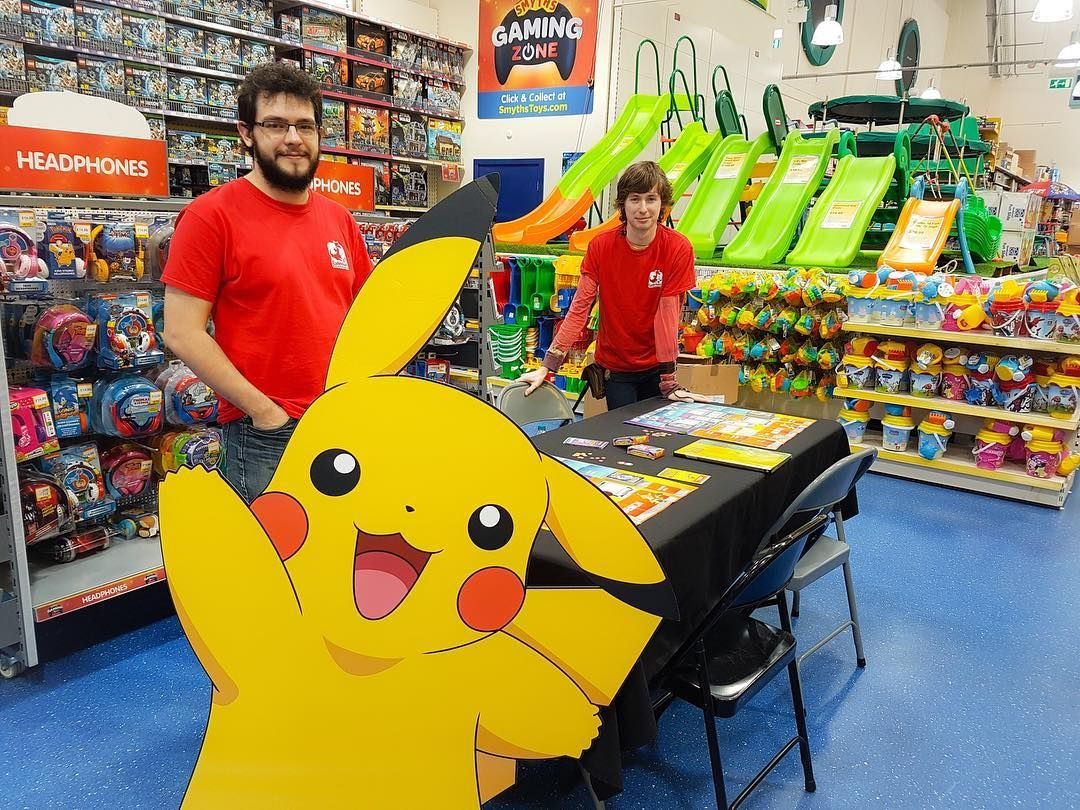 Come join our pokemon trade play day in store today