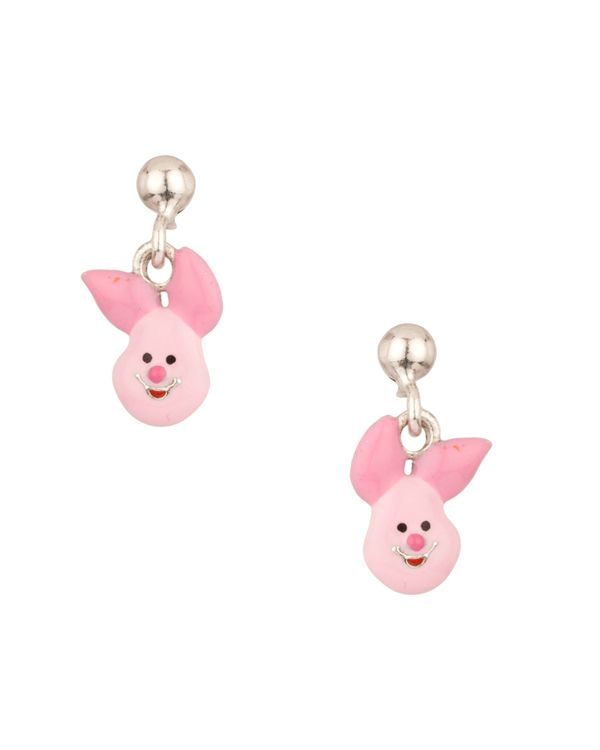 Disney S Sterling Silver Cute Piglet Earrings