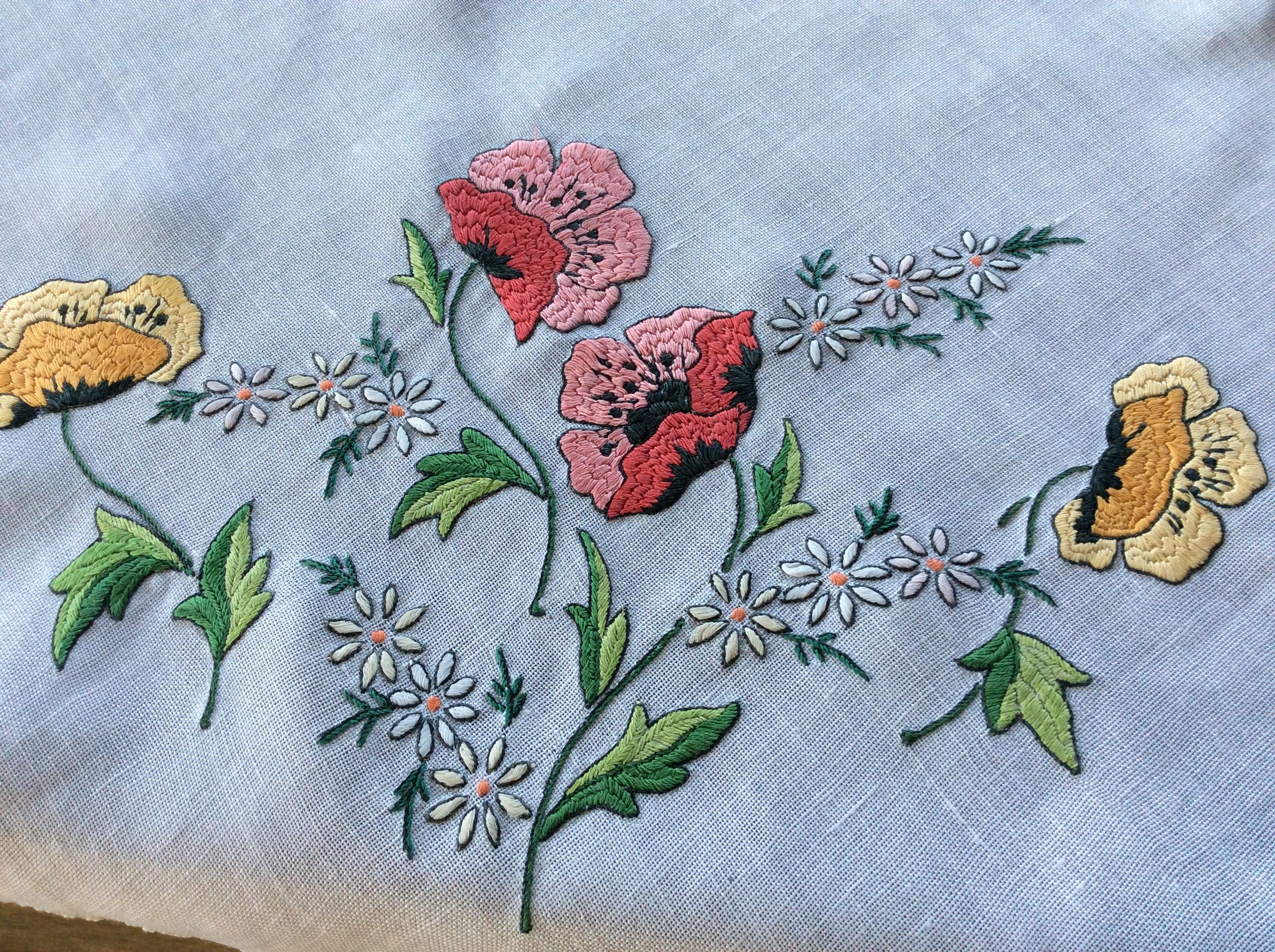 Embroidery for Beginners at home (photos)