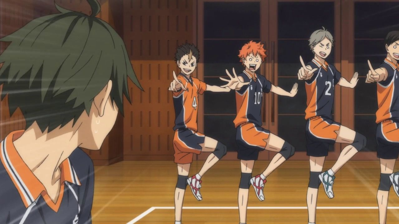 Haikyuu Mo Ippon Nice Serve Lol Haikyuu Haikyuu Anime