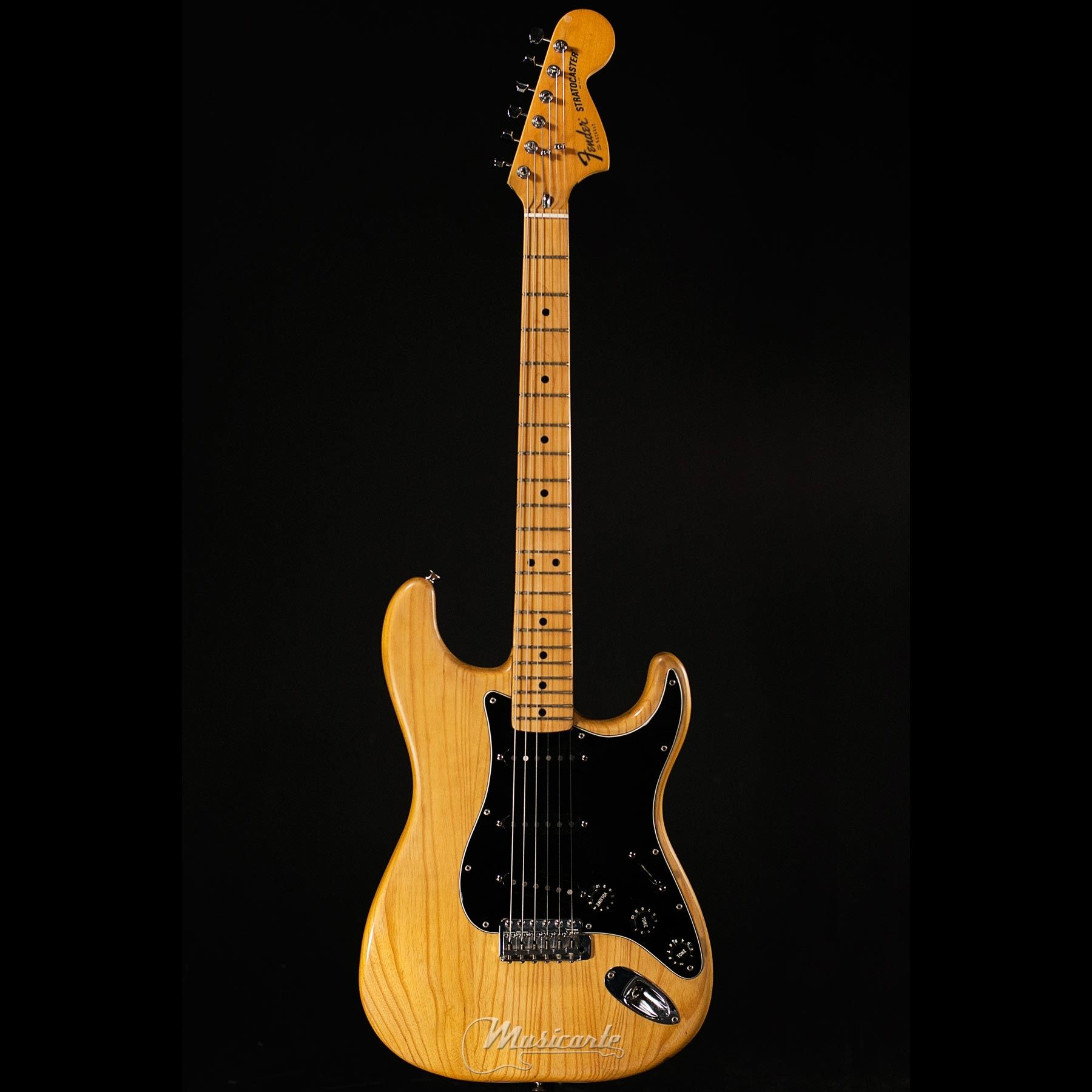 fender stratocaster 1979 natural maple neck musicarte strumenti musicali. Black Bedroom Furniture Sets. Home Design Ideas