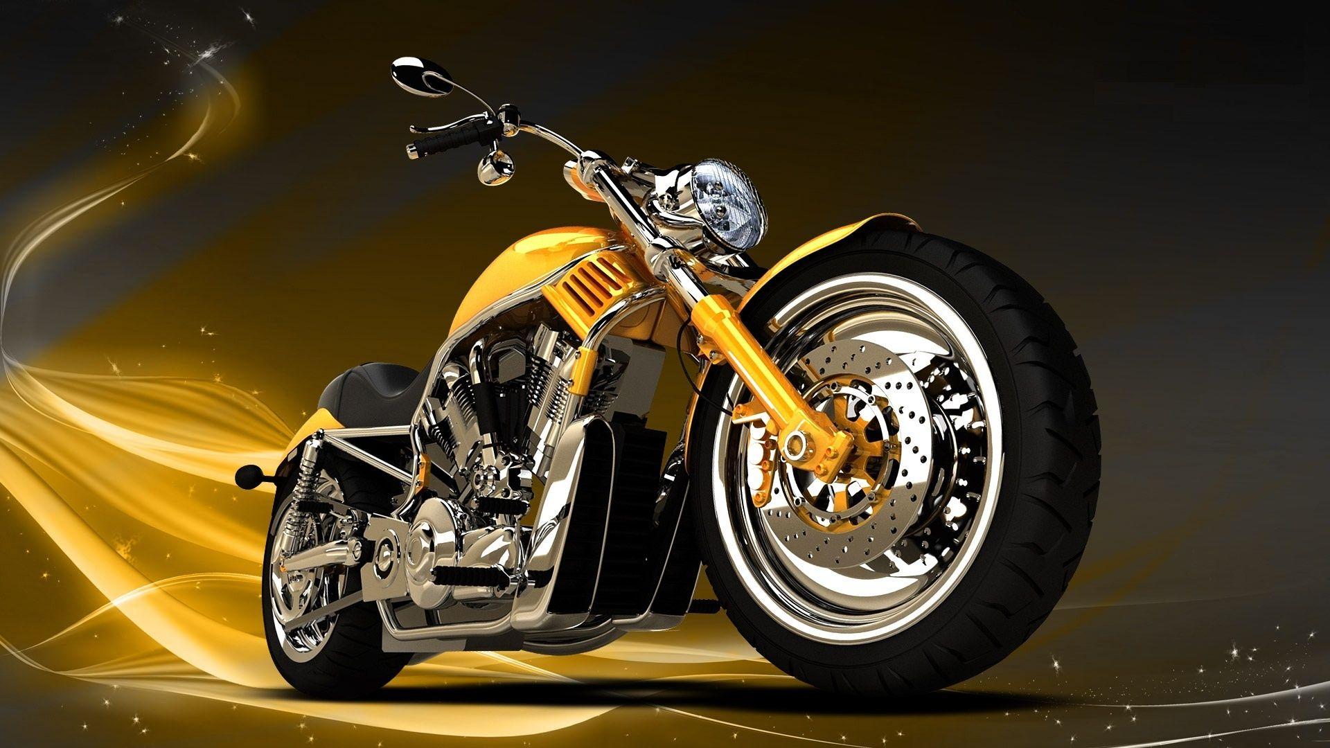 golden chopper bikes wallpaper - http://69hdwallpapers/golden