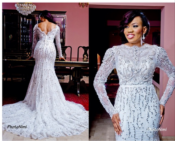 Nigerian Wedding Lace Dress – Fashion dresses