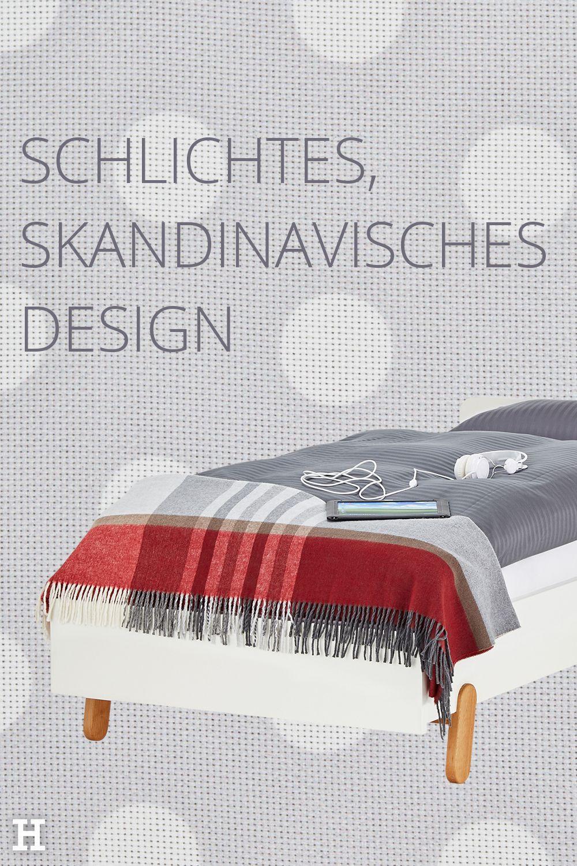 Schlichtes, skandinavisches Design ist zeitlos, modern und