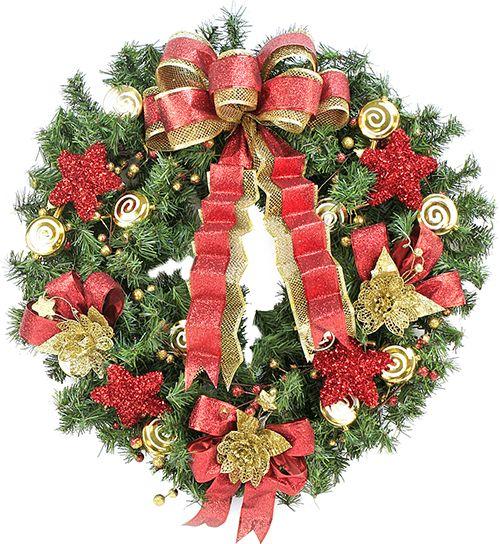 Corona navide a navidad 2014 adorno decoraci n - Adornos de navidad 2014 ...