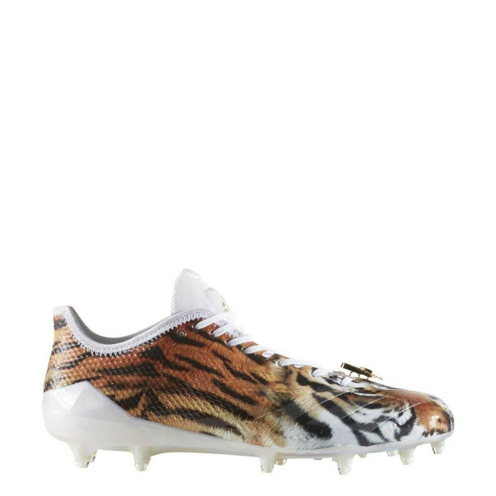 online store d47b6 5d7e7 Advertisement(eBay) New Adidas Adizero 5-Star 6.0 Uncaged Tiger Football  Cleats White