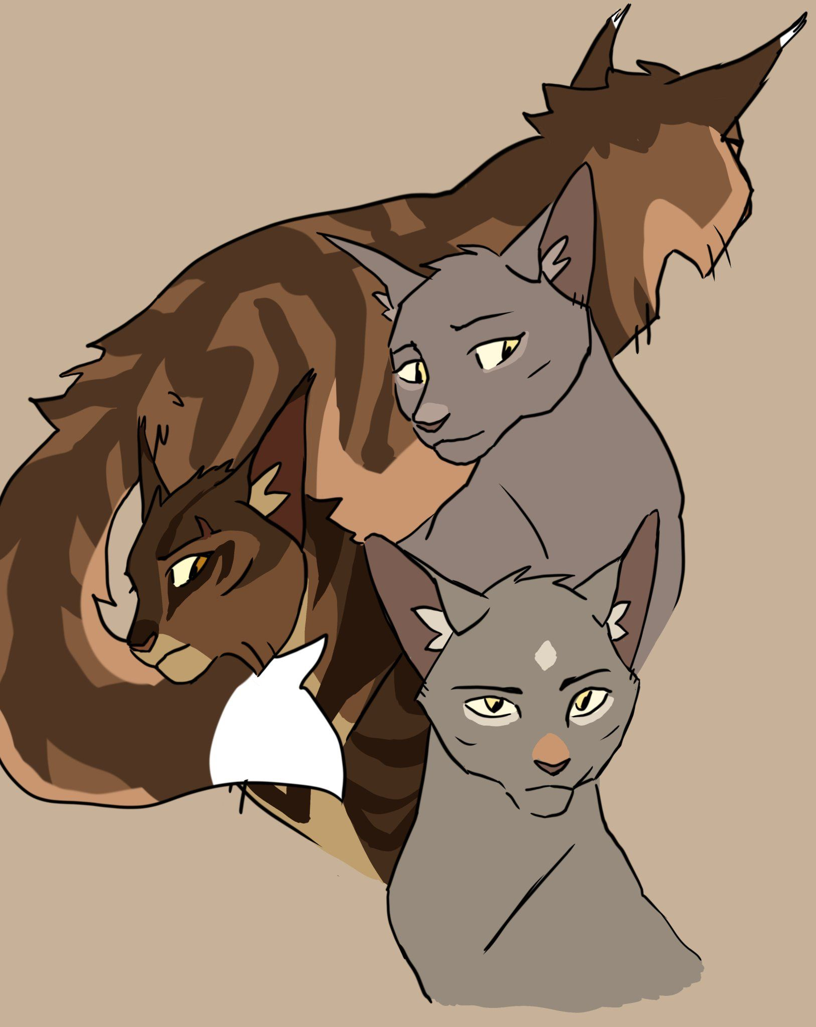 Pin by Tadpole.paarty on Warriors in 2020 Warrior cats