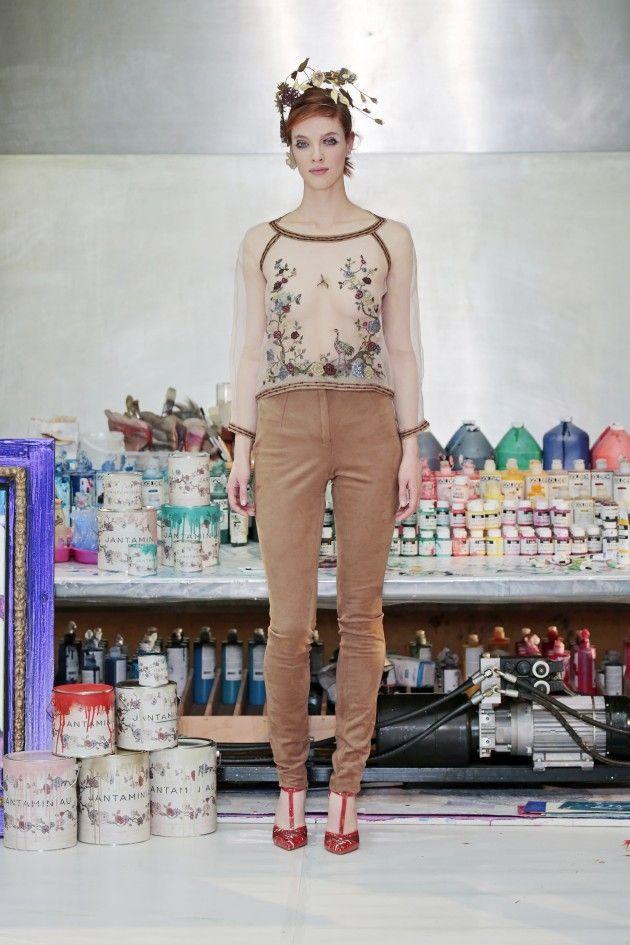 Schilderachtige Jan Taminiau couture | Independent Fashion Daily