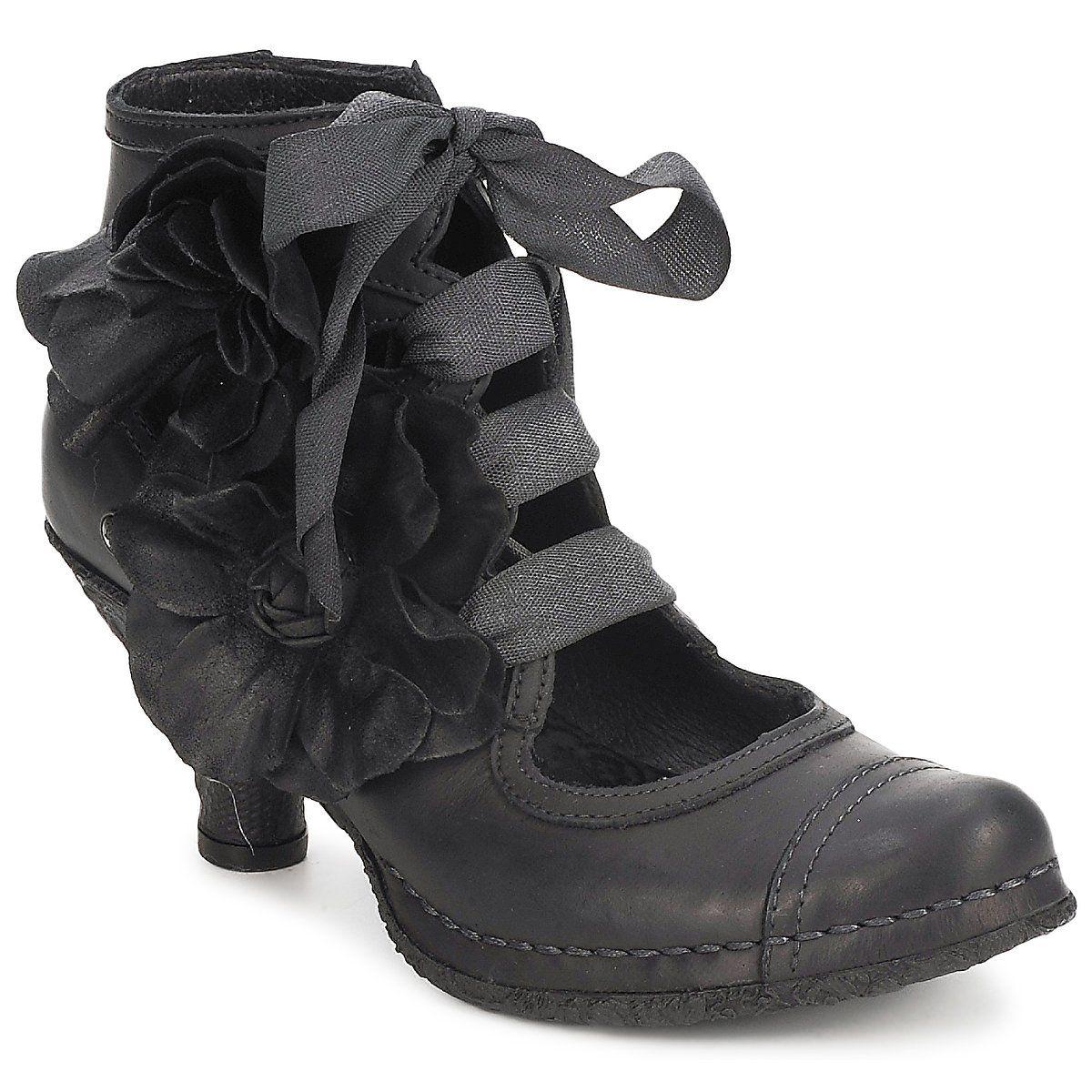Botines Neosens CROATINA FLOLACE Negro - Entrega gratuita con Spartoo.es ! - Zapatos Mujer 175,00 €