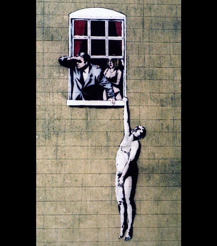 L'univers de Banksy résumé en 20 dessins