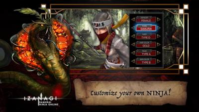 Izanagi Samurai Ninja Online Game Online Terbaik Di Android Dengan Unreal Engine Gambar Game Android
