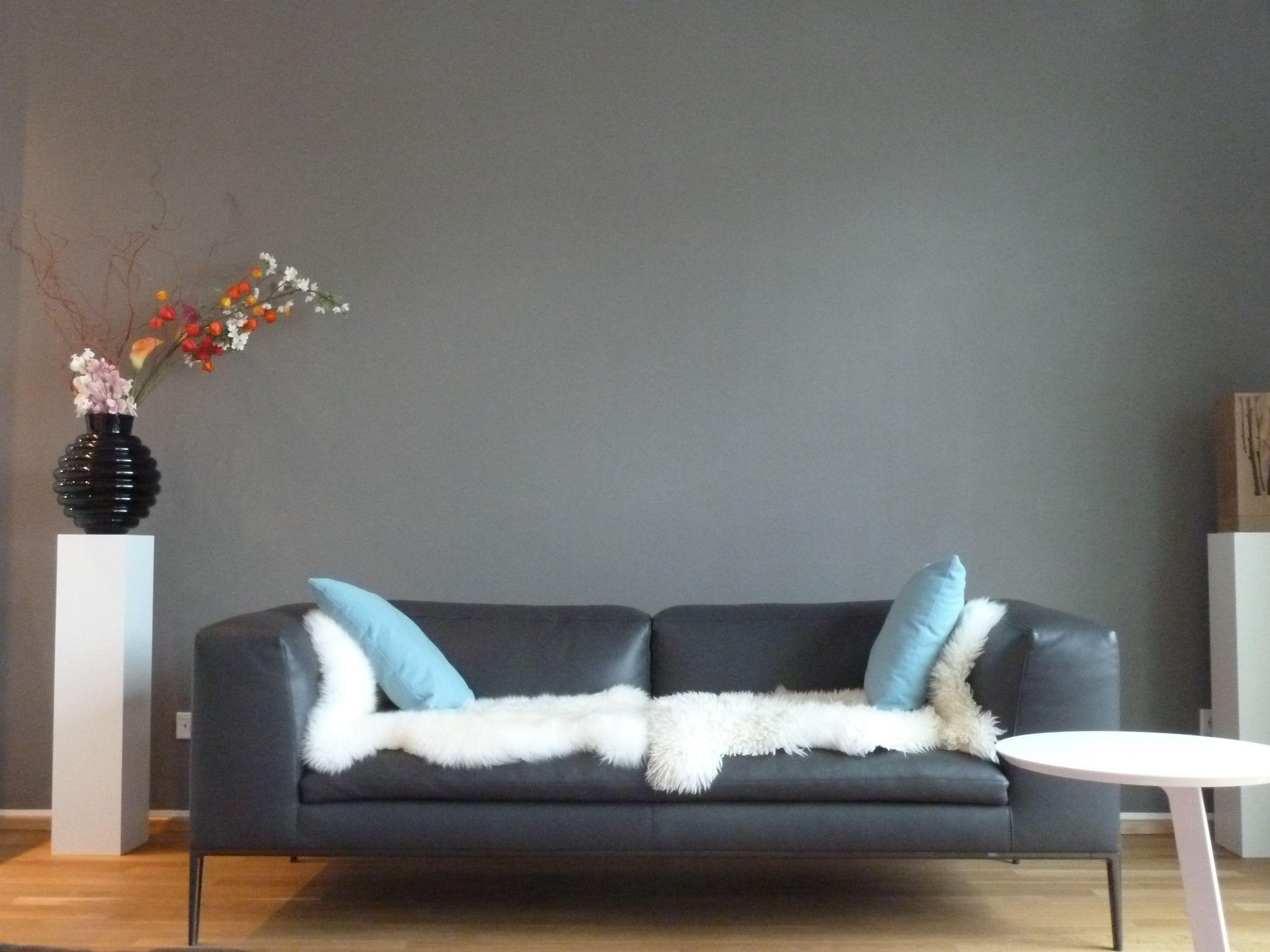 Ich Hab Die Wand Grau Gestrichen.. | Schöner Wohnen, Wohnen Und ... Schoner Wohnen Wohnzimmer Grau