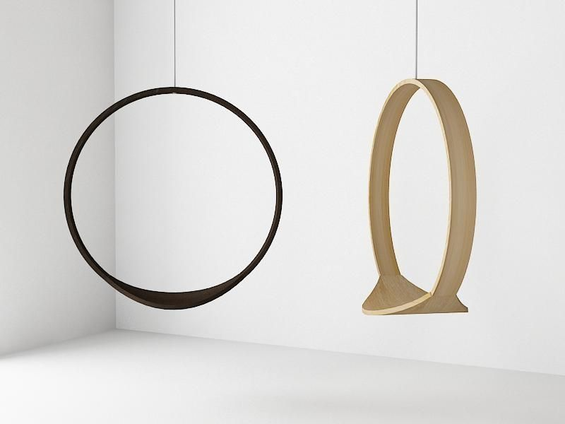 I Love A Fun Design, And The Swing Chair By Iwona Kosicka Is Not Only
