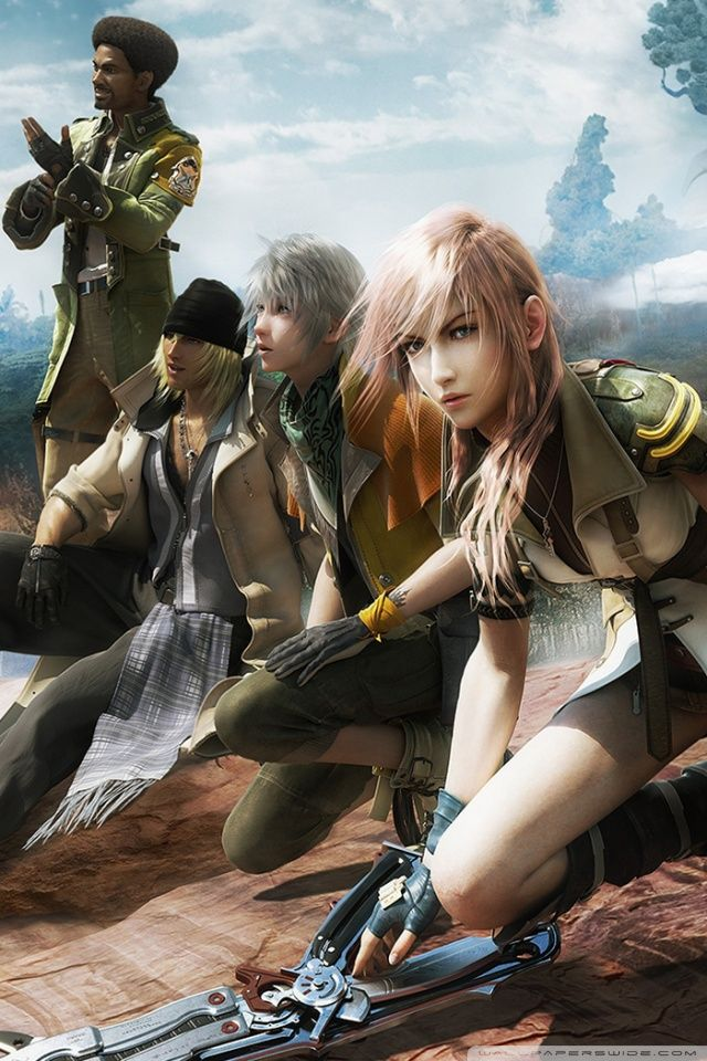 Final Fantasy 13 Iphone Wallpapers Wallpaperpulse Lightning Final Fantasy Final Fantasy Art Final Fantasy Collection
