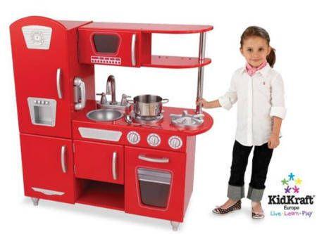 COCINA RETRO ROSA KIDKRAFT 53173 PARA NIÑOS | NIÑOS | Pinterest ...