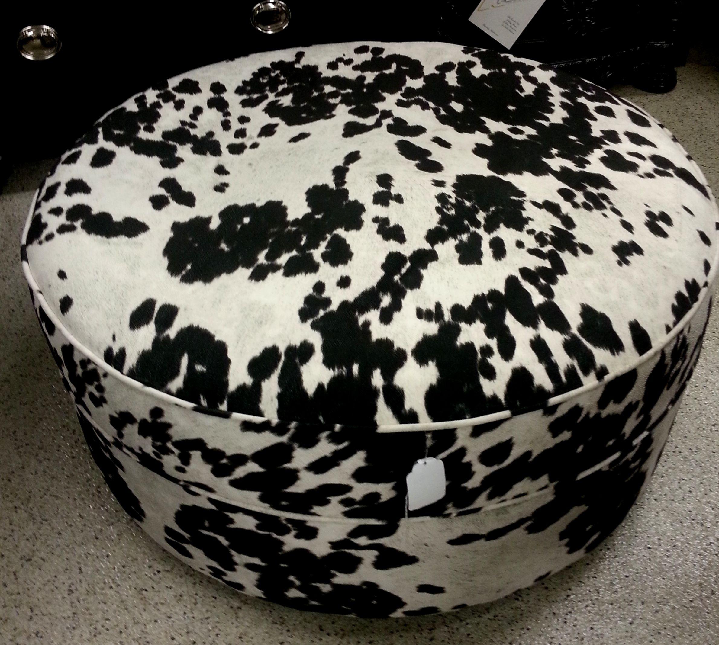 Cow Print Ottoman. Smartbuysforthehome.com Smart Buys Furniture RiverGate  Mall Nashville