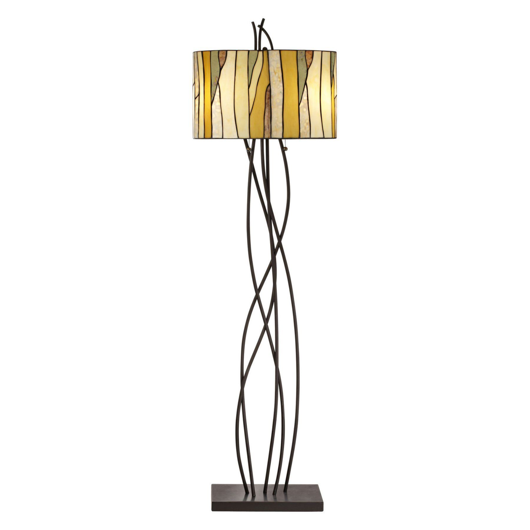 Pacific Coast Lighting Oak Vine Floor Lamp Floor Lamp Lamp Bronze Floor Lamp