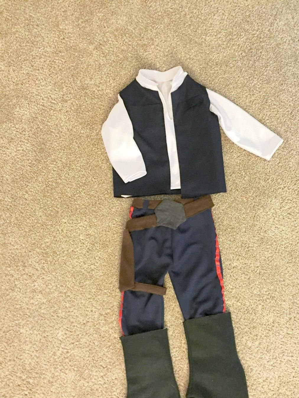 Han Solo Star Wars Infant, Baby, and Toddler Costume and Cosplay ...
