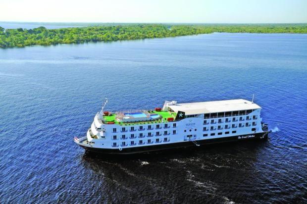 Sobre as águas do Rio Negro, um cruzeiro fluvial pela Amazônia Iberostar Grand Amazon/Divulgação