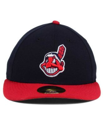 03963912 New Era Cleveland Indians Low Profile Ac Performance 59FIFTY Cap ...