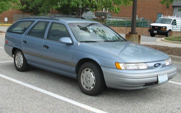 1992 Ford Taurus Wagon Bought This Used In White Rusted But It