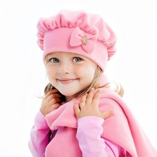 Boina infantil com molde - Ver e Fazer  boina  moldes  moldesdefeltro   costura  corte  dicas  moda  fashion  artes  menina  mulher  artesanato   manualidades ... 308a9d7fe78