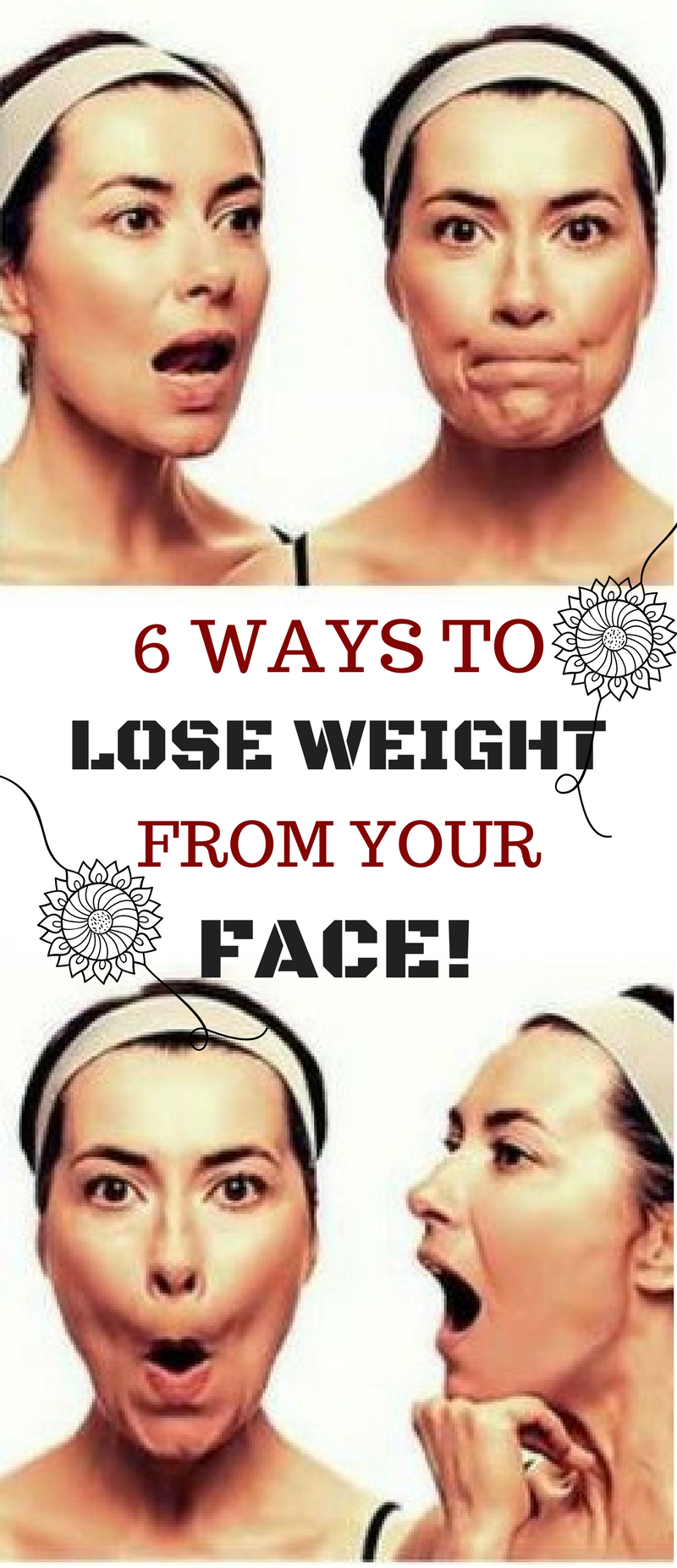 6 ways to lose weight from your face fitness facts workout and 6 ways to lose weight from your face ccuart Image collections