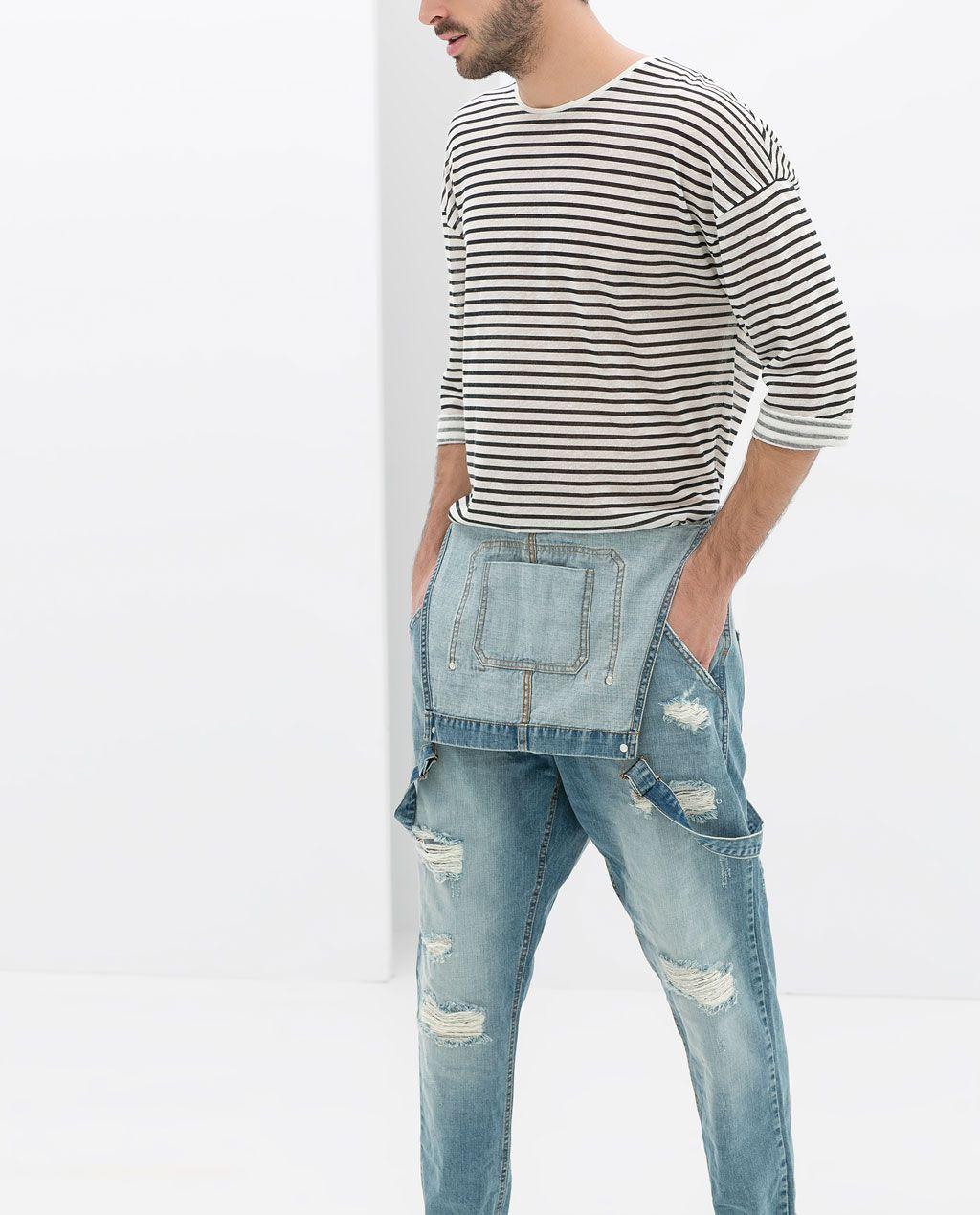 la mejor actitud 02e09 69d92 ZARA - HOMBRE - PETO ROTOS | Style en 2019 | Vestimenta ...