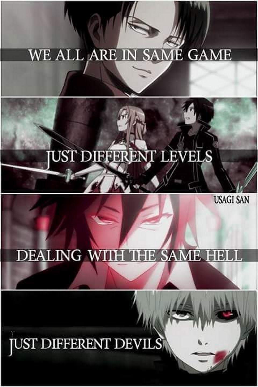 Best Anime Badass Quotes