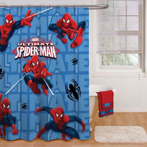 Disney Spider Man Shower Curtain Disney Http Www Amazon Com Dp