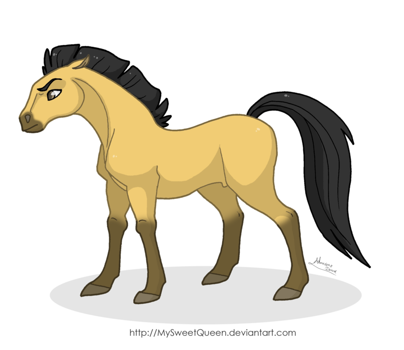 Stallion of the Cimarron by MySweetQueen.deviantart.com on ...  Stallion of the...