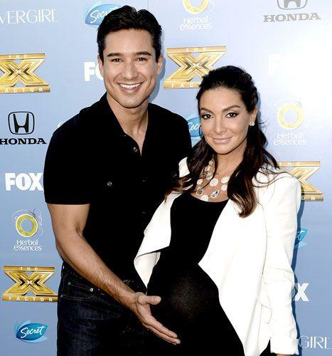 mario lopez wife pregnant