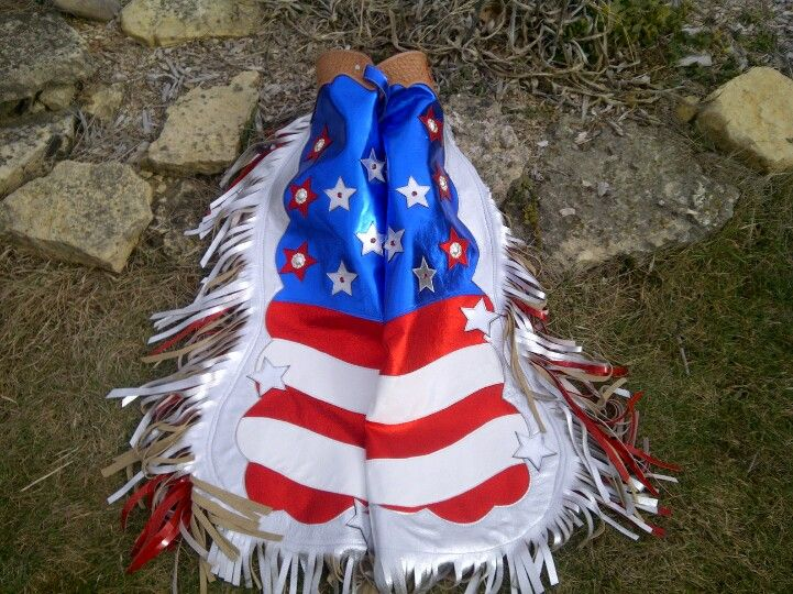 American Flag Rodeo Chaps Western Clothing Pinterest