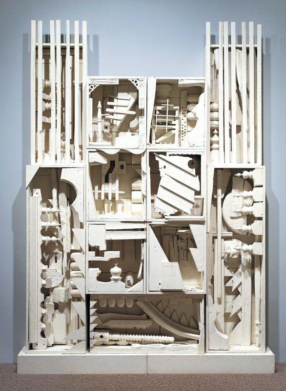 Louise Nevelson • Dawn's Wedding Chapel II, 1959 (With images ...