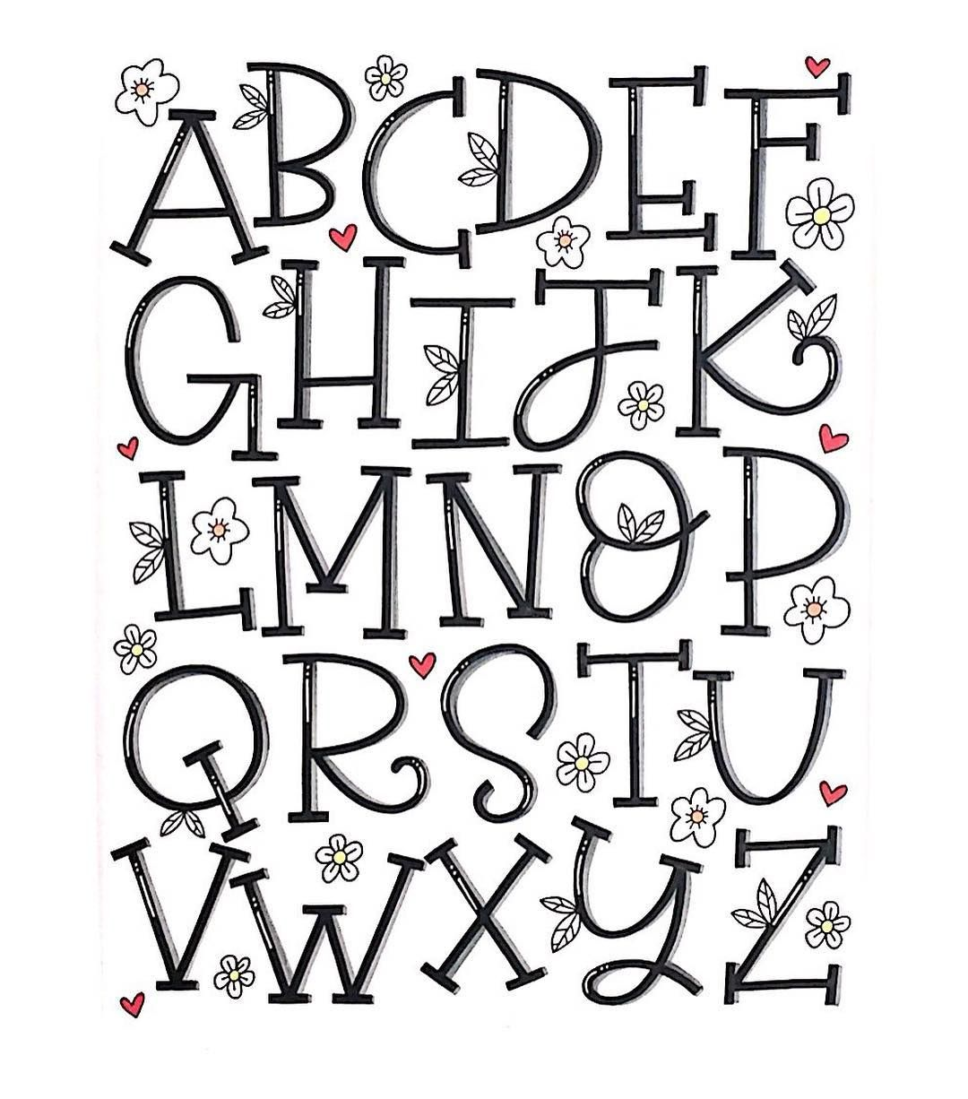 Alphabet frs handlettering drawingwriting pinterest fonts alphabet frs handlettering altavistaventures Gallery
