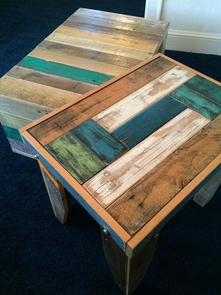 pinterest diy palette bois table basse fabriquer palettes ...