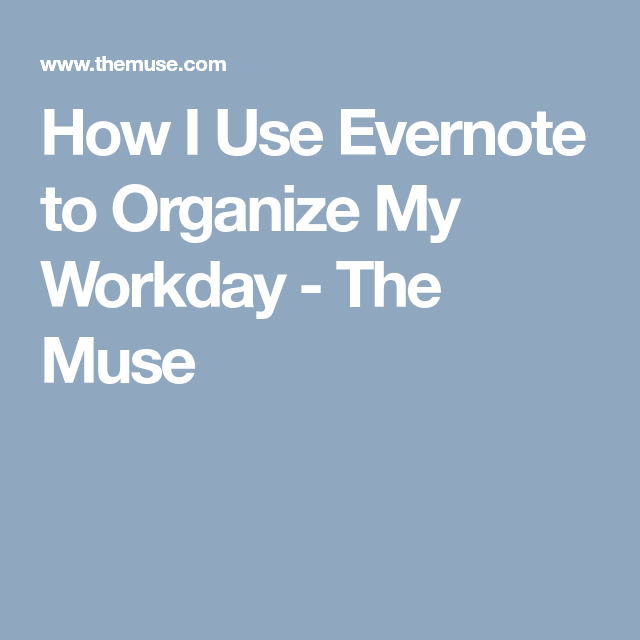 Let Me Tell You Why Evernote's Truly the Best App Career