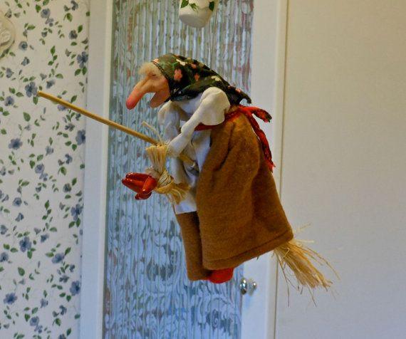 Norwegian Kitchen Witch Kitchen Witch Decor Kitchen Witch Witch Doll