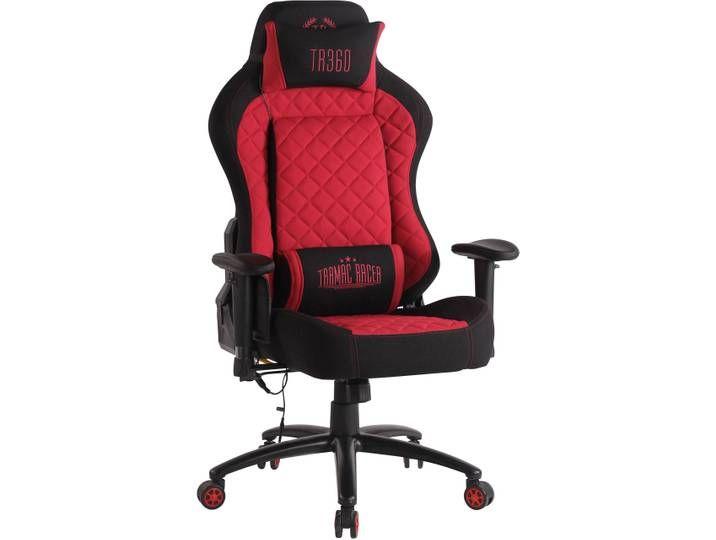 Burostuhl Rapid Xm Stoff Schwarz Rot Gaming Chair Home Decor Chair