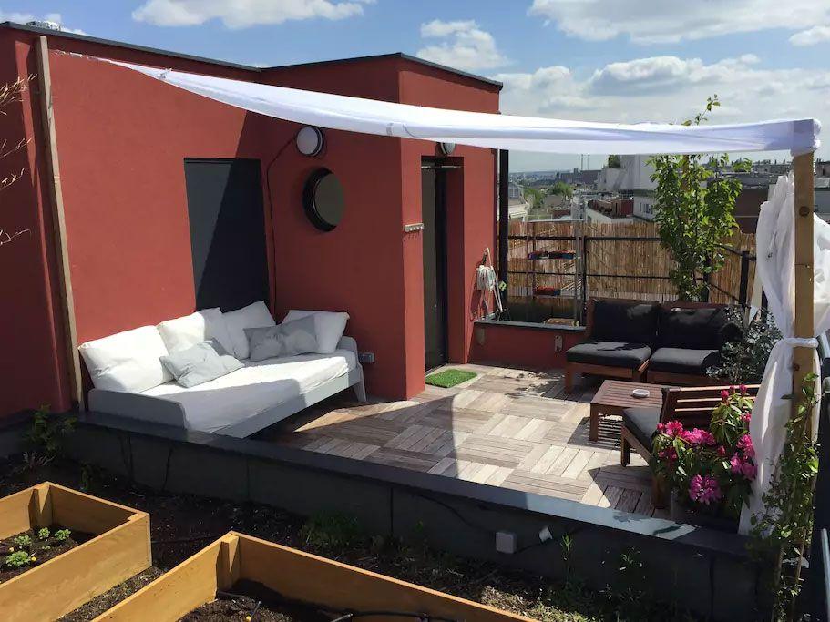 Le Rooftop de Clément Decoration exterieur, Toit, Paris