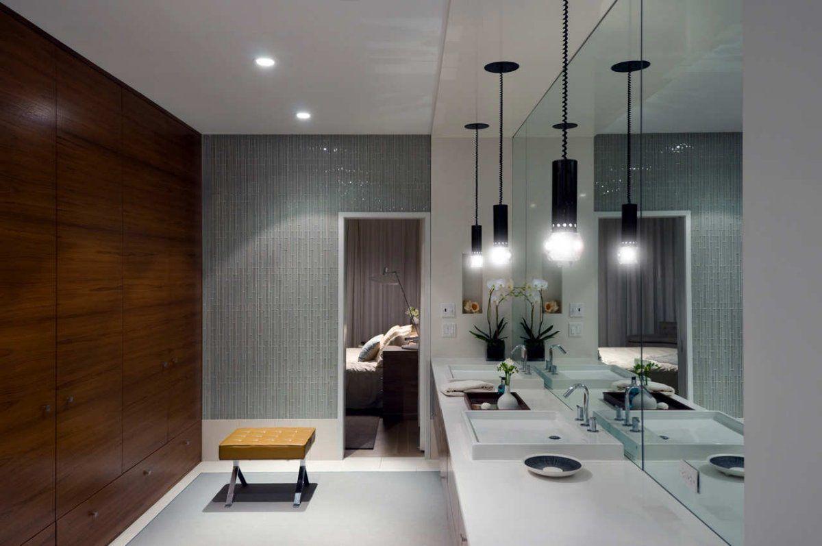 new york | Modern bathroom lighting, Contemporary bathroom ...